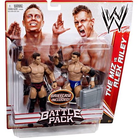 WWE Wrestling Series 13 The Miz vs. Alex Riley Action Figure 2-Pack