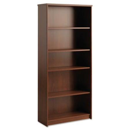 Bush Envoy Series Five-Shelf Bookcase, 29 7/8w x 11 3/4d x 66 3/8h, Hansen Cherry (Bush Envoy)