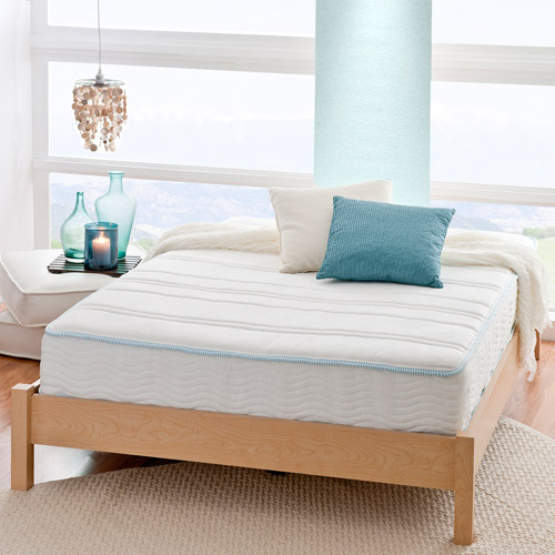 "Spa Sensations Luxe 9.5"" MyGel Memory Foam Tight Top Hybrid Spring Mattress"