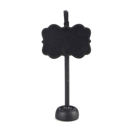 Chalkboard Wooden Card Holder, Bracket, 4-1/2-Inch, Black](Firefly Names)