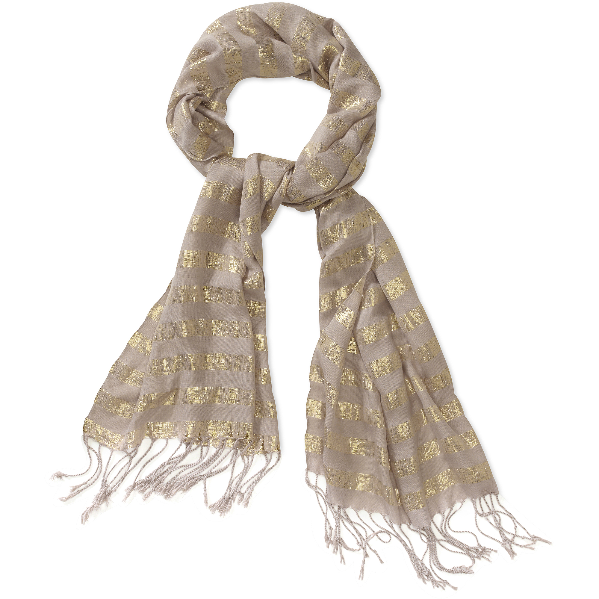Women's Stripe Pastel Lightweight Scarf