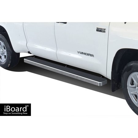 iBoard Running Board For Toyota Tundra Crew Cab 4 Full Size (Toyota Tundra Running Boards)