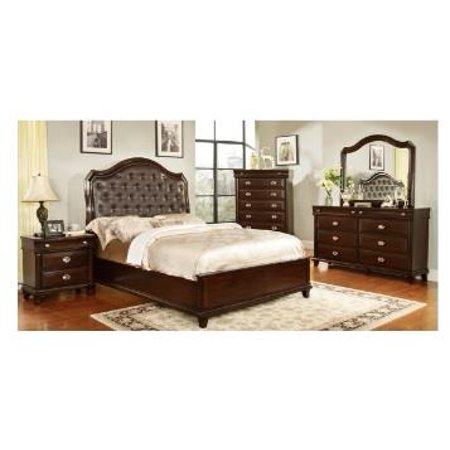 Coaster Fine Furniture Nightstand Cappuccino 202812 Walmart Com