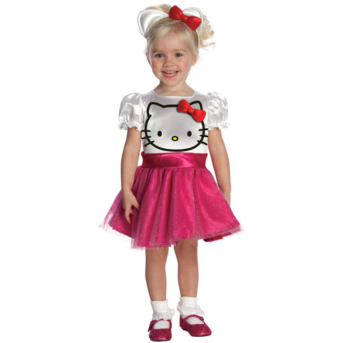 Hello Kitty Pink Tutu Toddler Halloween Costume