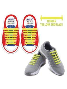 Product Image Homar Kids Shoelaces for Sneakers - Best in Sports Fan  Shoelaces - Rubber Waterproof No Tie 674b8591056bd