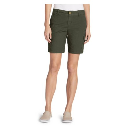 Eddie Bauer Women's Adventurer Stretch Ripstop Cargo Shorts - Slightly