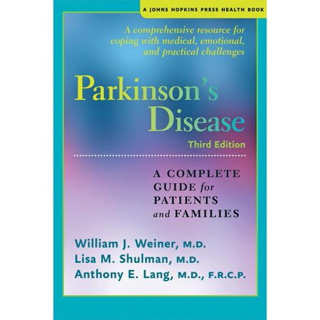 Johns Hopkins Press Health Books  Paperback   Parkinsons Disease  A Complete Guide For Patients And Families  Paperback