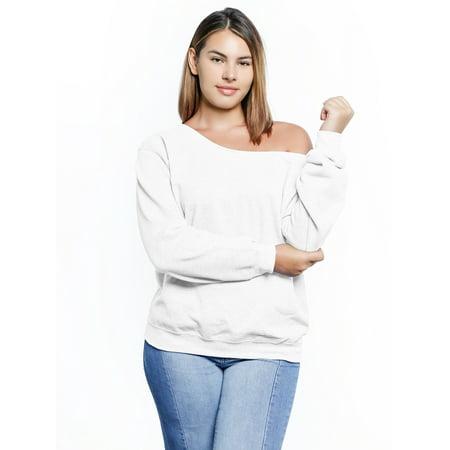 754f8aee2daf2 Awkward Styles Off Shoulder Sweatshirt Plus Size Clothing for Women Plus  Size Sweater Off The Shoulder Cute Curvy Plus Sweatshirt for Women Cute Plus  Size ...