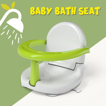 Foldable Infant Baby Bath Seat Safety Bath Support Seat Non-slip Toddler Bath Seat for Eating Bathing Sitting