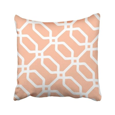 BPBOP Trellis Overlapping Octagon Pattern Accessory All Bunting Geometric Graphic Interior Pillowcase Cover 16x16 inch