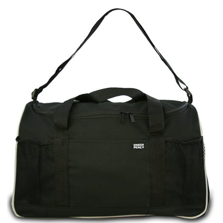 Ensign Peak Everyday Duffel Bag with Adjustable Shoulder Strap and Mesh Pockets