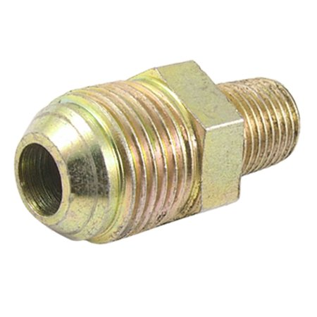 Unique Bargains Unique Bargains Flare Fitting Straight Threaded Hydraulic Coupling 1/2