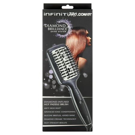 Infiniti Pro By Conair Diamond Infused Hot Paddle Brush
