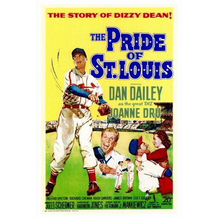 The Pride of St. Louis POSTER Movie (27x40)