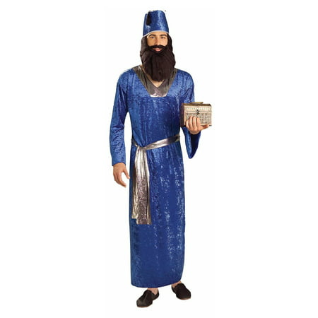 Blue Wiseman Costume for Men - Nerd Costume For Men