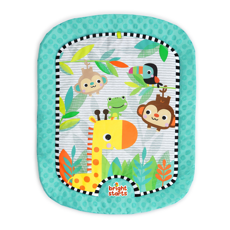 Infants Safari Adventures Play mat Orange Bright Starts 0m+