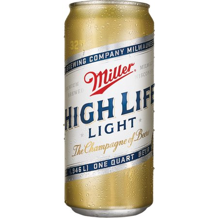 upc 034100005863 miller high life light beer 32 oz can. Black Bedroom Furniture Sets. Home Design Ideas