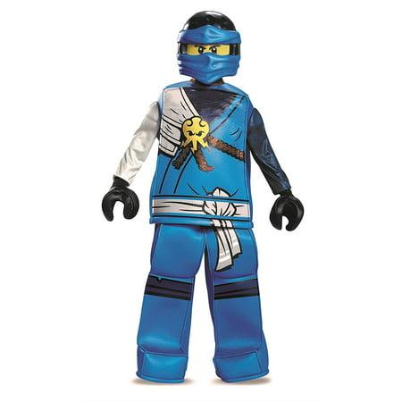 Lego City Halloween Costumes (Boys' Lego Ninjago Movie Jay Prestige)