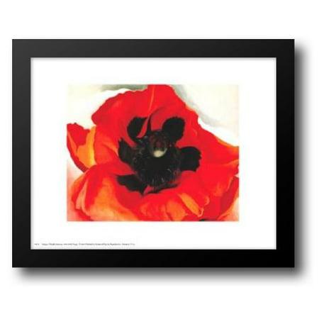 - Poppy 18x15 Framed Art Print by O'Keeffe, Georgia
