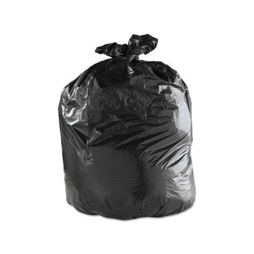 Pitt Plastics TM60XK Tru-mil Low Density Can Liners, 55 Gal, 1.8 Mil, 36 X 58, Black, 50/carton