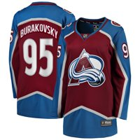 Andre Burakovsky Colorado Avalanche Fanatics Branded Women's 2017 Breakaway Player Jersey - Maroon