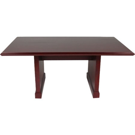 OfficeSource Brunswick Rectangular Conference Table Walmartcom - Office source conference table