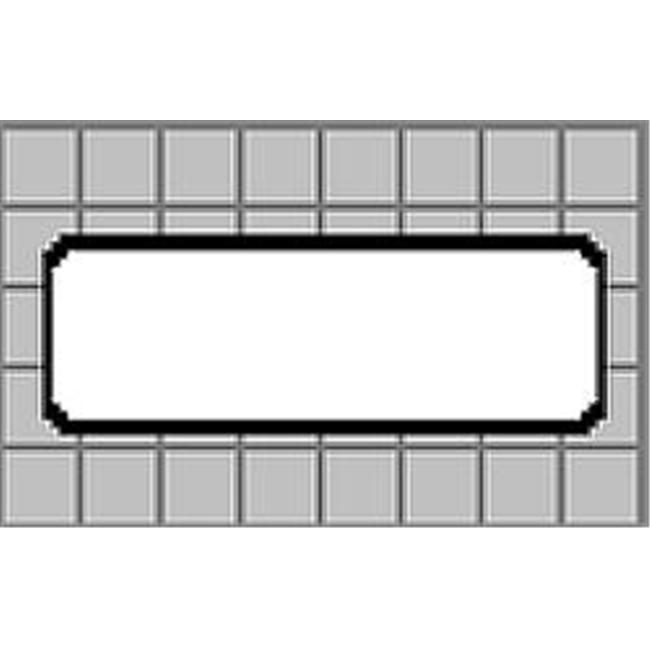Self-Adhesive Address Labels, 1-1/8 x 3-1/2, White, 520/Box