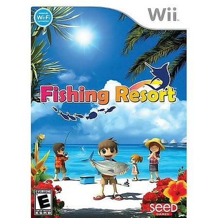 Image of fishing resort - nintendo wii
