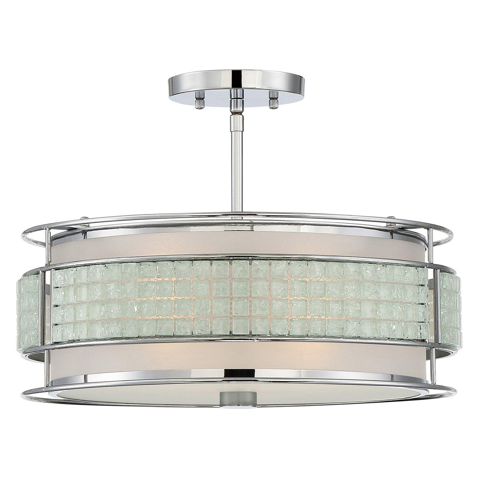 Quoizel Boundary BNY1716C Semi Flush Mount Light by Quoizel