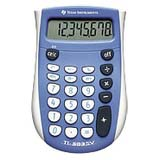 Texas Instruments TI-503 SV Basic Calculator - Durable, Sign Change, Automatic Power Down - 8 Digits - LCD - Battery Pow