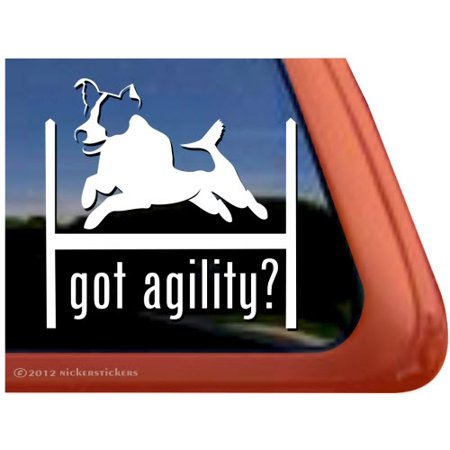 Got Agility? | High Quality Vinyl Jack Russell Terrier Dog Window Decal - Rydell High