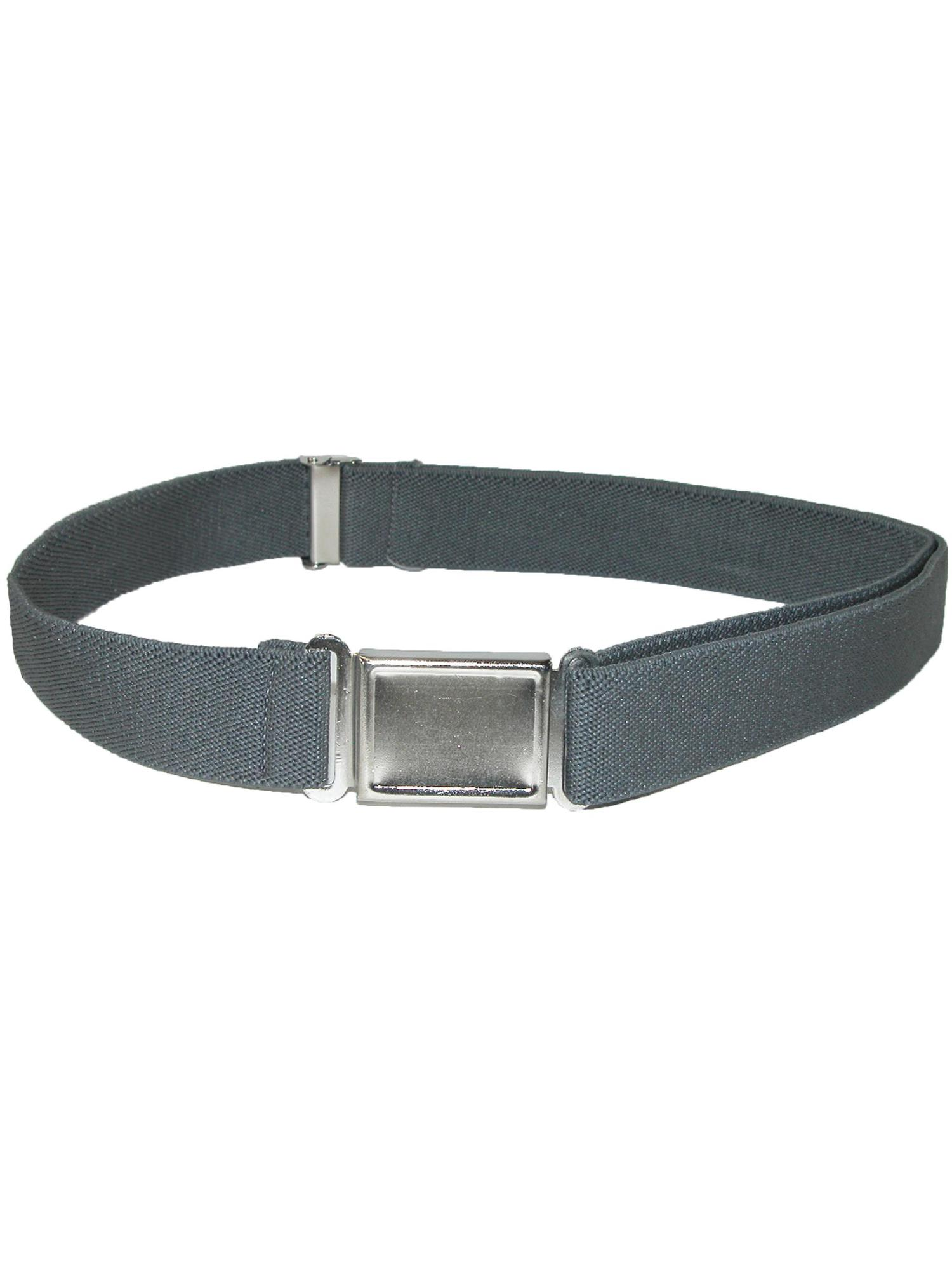 Size one size Kid's Elastic 1 Inch Adjustable Belt with Magnetic Buckle