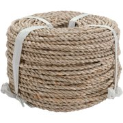 Basketry Sea Grass #1, 3mm x 3.5mm, 1 Pound Coil, Approximately 210'