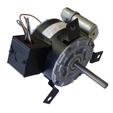 Penn Vent Electric Motor  De2f090n  1 6 Hp  1550 Rpm  115 Volts   63769 0