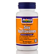 NOW Foods Soy Isoflavones Hormonal Support, Extra Strength, 60 Ct