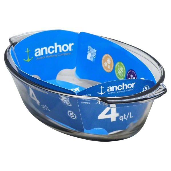 Anchor 4 Quart Bakeware, 1 pan