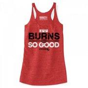 Stronger RX White Burn Tank Women Vest, Large