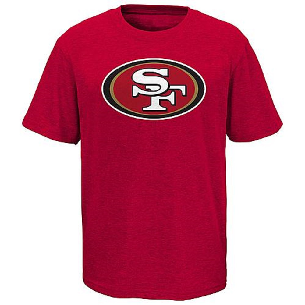Boys' Performance Tee-Shirt - San Francisco 49ers Size 18/20