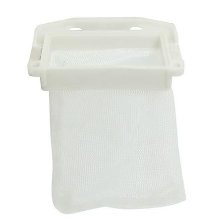 Washing Machine Washer Nylon Mesh Filtering Filter Bag White Ltqdw