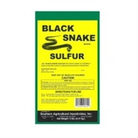 Black Snake Pulverized Sulfur - 5 (Yellow Soil)