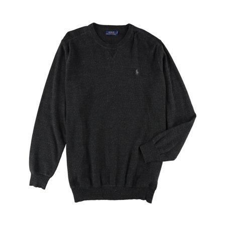 - Ralph Lauren Mens Knit Pullover Sweater black 2LT - Big & Tall
