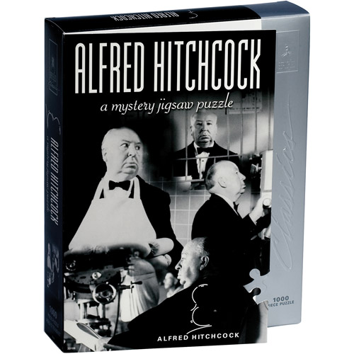 University Games Classic Mystery Alfred Hitchcock Jigsaw Puzzle, 1000 Pieces