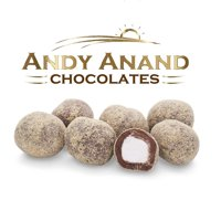 Andy Anand Marshmallows drenched in Pure Milk Chocolate dipped in Graham Cracker Crumbs 1lbs Gift Boxed Greeting Card, Delicious & Divine, Birthday Christmas Holiday Mothers Fathers Day