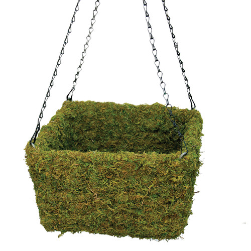 SuperMoss Square Hanging Basket (Set of 3)