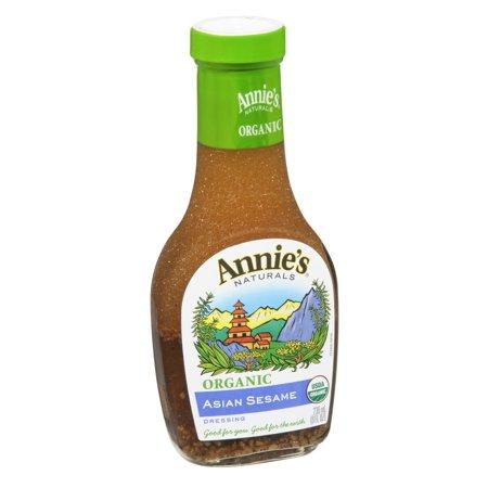 Annie's Naturals Organic Asian Sesame Dressing, 8 FL OZ (Pack of 6)