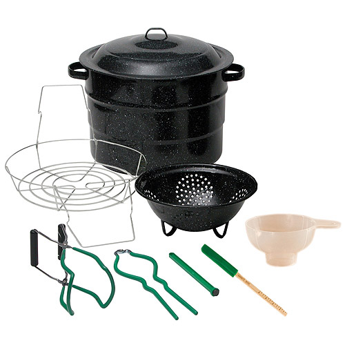 Granite Ware 9-Piece Canning Set, Black