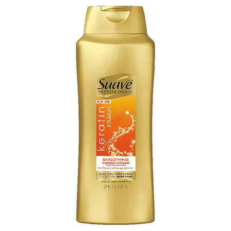 (2 pack) Suave Professionals Keratin Infusion Smoothing Conditioner, 28 (Lanza Smoothing Conditioner)