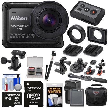 hot product cheap price low price sale Nikon KeyMission 170 Wi-Fi Shock & Waterproof 4K Video ...