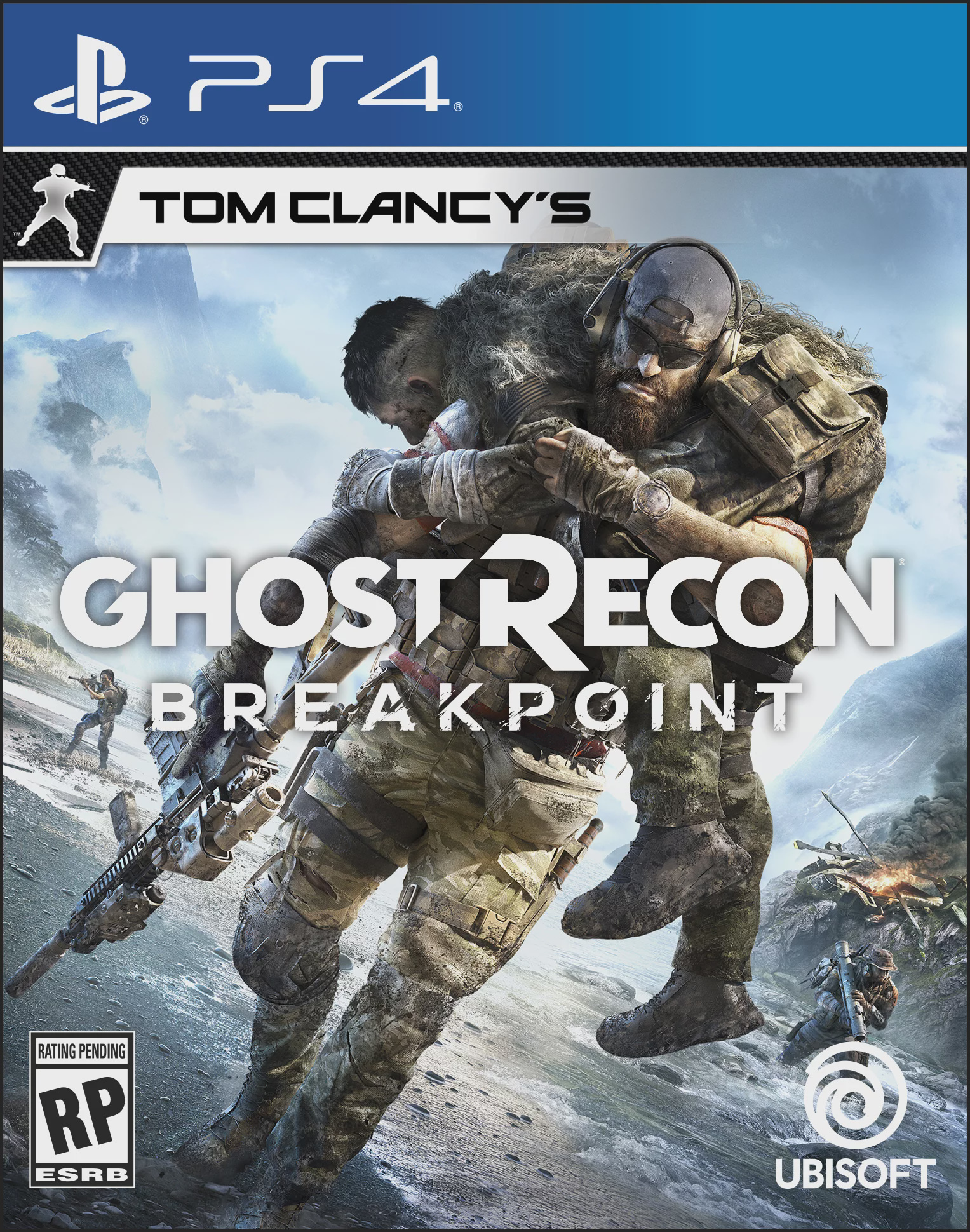 DAY 2 Tom Clancy's Ghost Recon Breakpoint, PlayStation 4, 887256090449