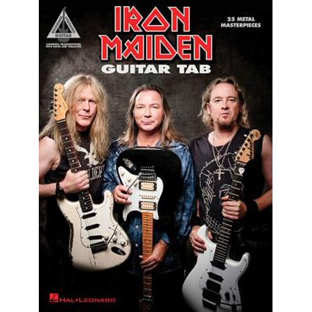 Iron Maiden - Guitar Tab : 25 Metal Masterpieces